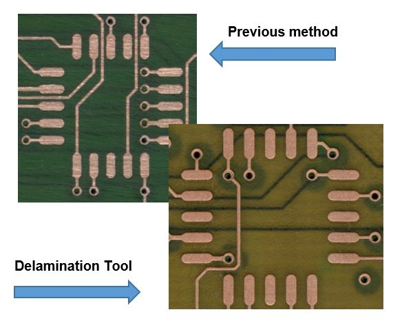 PCB Delamination - ScanCAD International